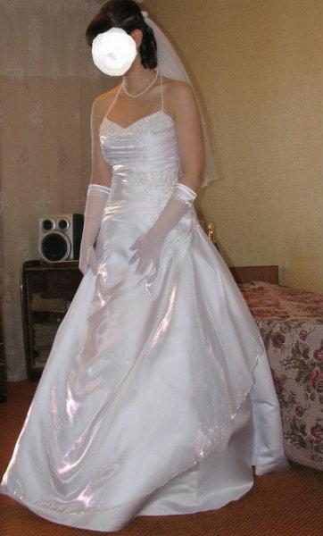 Продам свадебное платье в Челябинске.