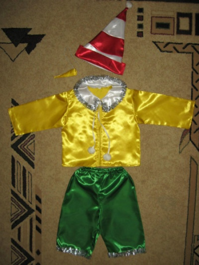 Новогодние костюм буратино для мальчиков - Stratoplan Digital Publishers